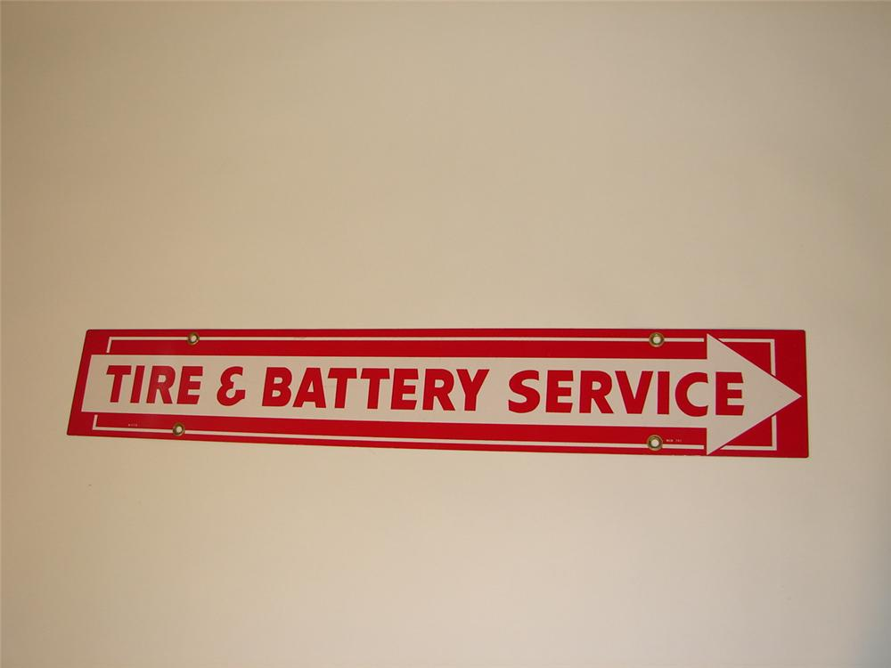 Firestone Tire and Battery Service sign - Front 3/4 - 67069