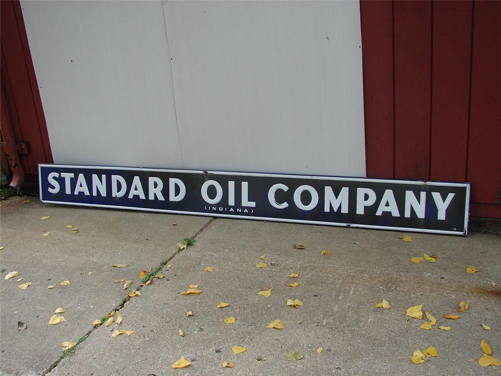 1930s Standard Oil Products station sign. - Front 3/4 - 67085