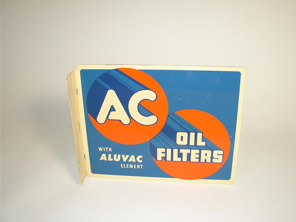 Sharp 1950 AC Oil Filters double-sided tin garage flange. - Front 3/4 - 71314