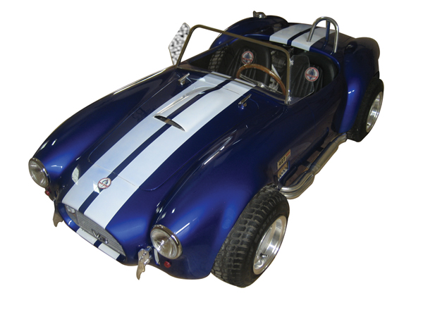 One of a kind 427 Cobra replica go-cart. The ultimate tribute hand-built to scale with finest attention to detail. Personall... - Front 3/4 - 72142