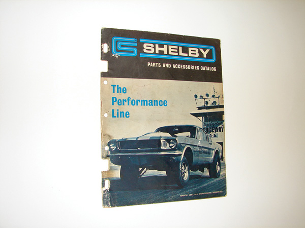 Rare 1967 Shelby Parts and Accessories 20 page dealer catalog. - Front 3/4 - 75544