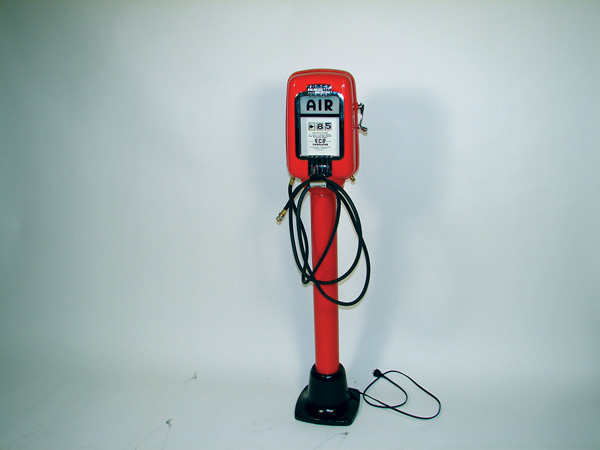 "Fabulous 1940s-50s Eco service station restored ""Tire Flator"". - Front 3/4 - 75579"