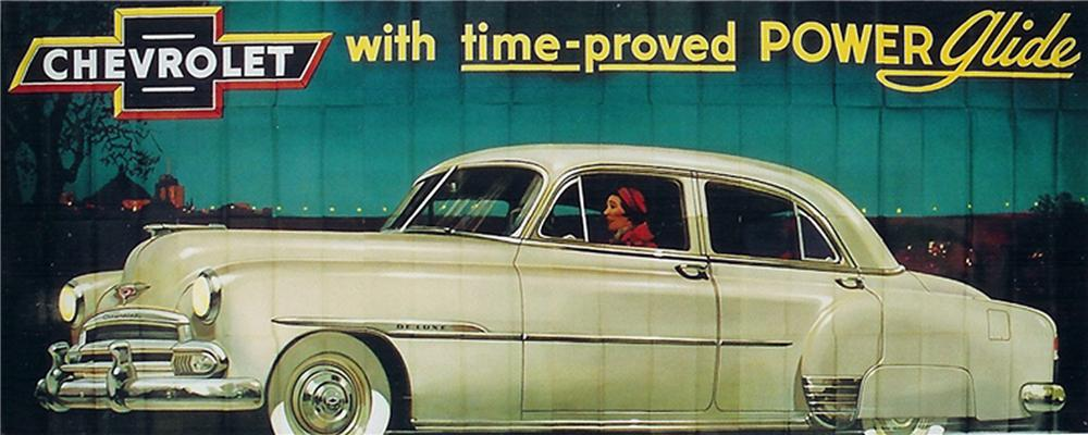 Killer N.O.S. 1951 Chevrolet Automobiles billboard sign. Great for public or private display. - Front 3/4 - 79504