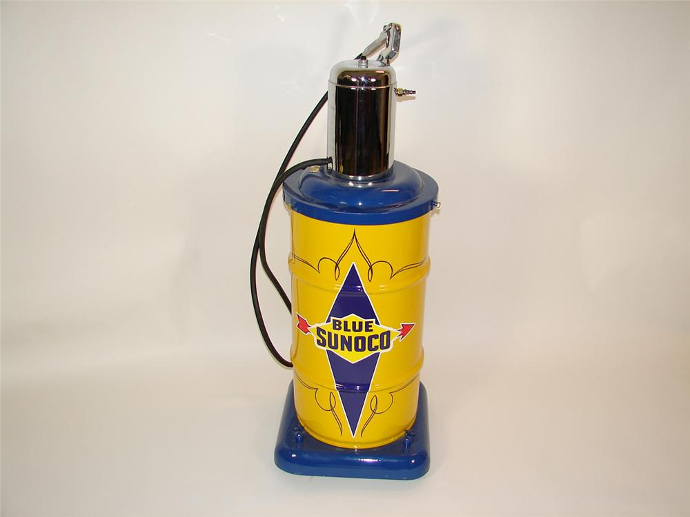 Choice 1950s Sunoco Service Station 15 gallon department greaser on wheels. - Front 3/4 - 81503