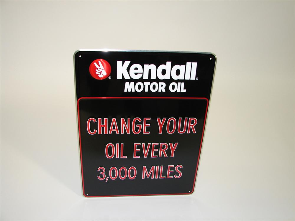 N o s kendall motor oil 39 change your oil 39 single sided for Kendall motor oil distributors