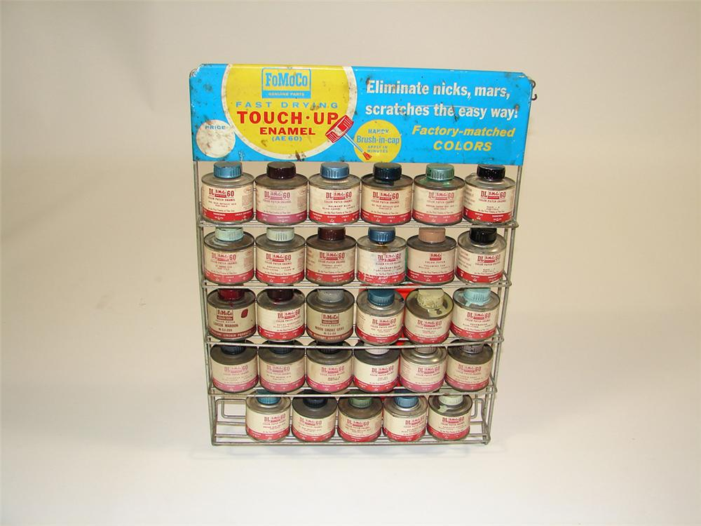 1950s Ford FoMoCo service department counter-top touch-up paint display. - Front 3/4 - 82324