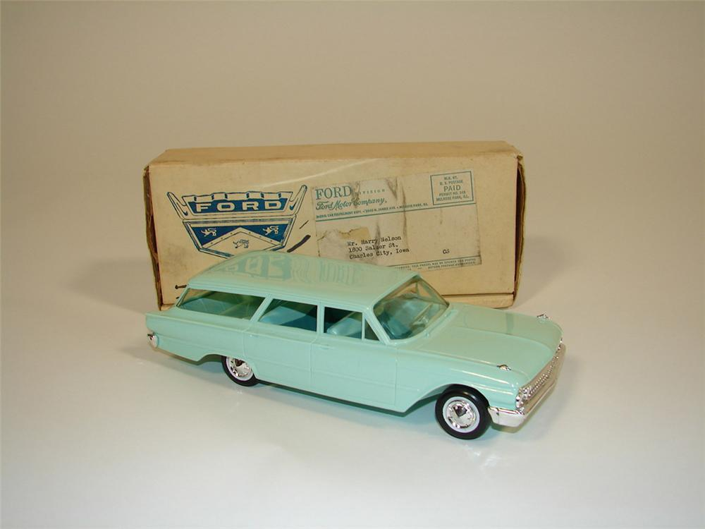 N.O.S. 1962 Ford Country Sedan dealer promotional still in the original shipping box. - Front 3/4 - 82411