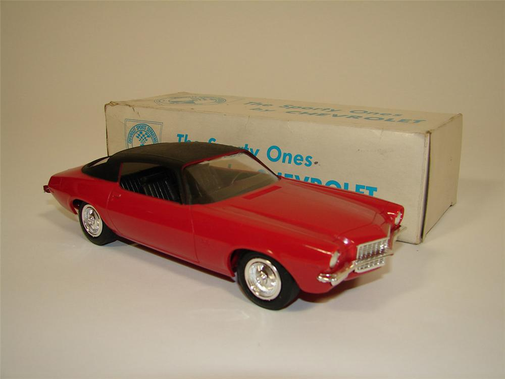 N.O.S. 1970 Camaro SS 396 dealer promotional still in the original box. - Front 3/4 - 82414