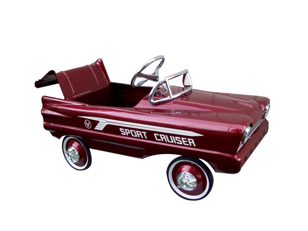Killer 1960 restored Sport Cruiser by AMF with working trunk. - Front 3/4 - 82471