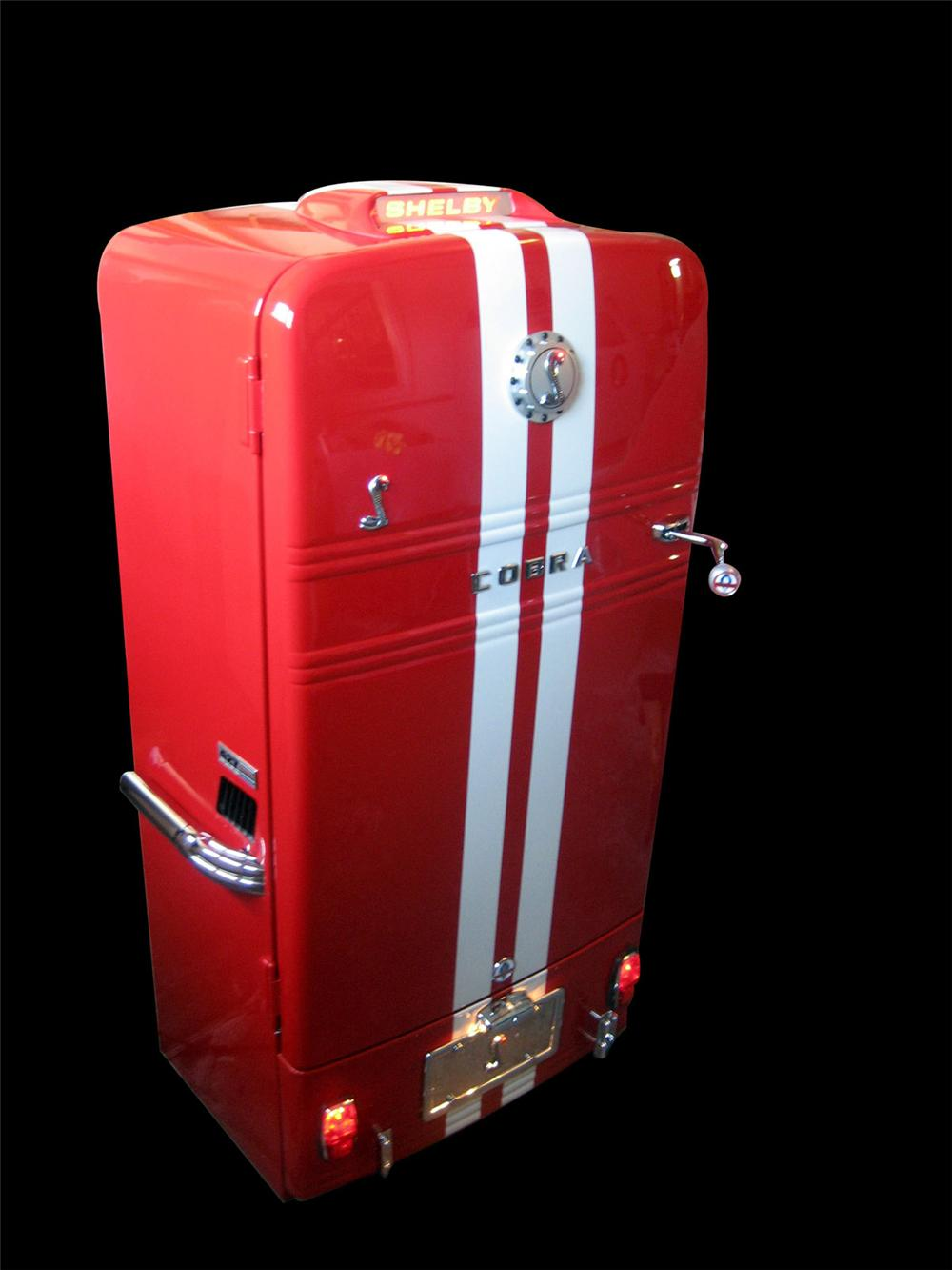 Amazing 1950s Westinghouse Shelby Cobra one-off tribute fridge. - Front 3/4 - 82620