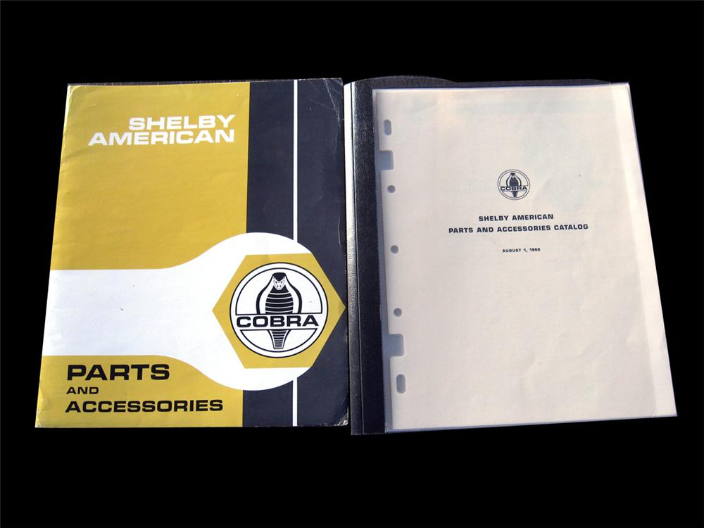 1966 Shelby American 24 page High Performance parts engine and accessory catalog with original folder. - Front 3/4 - 89266