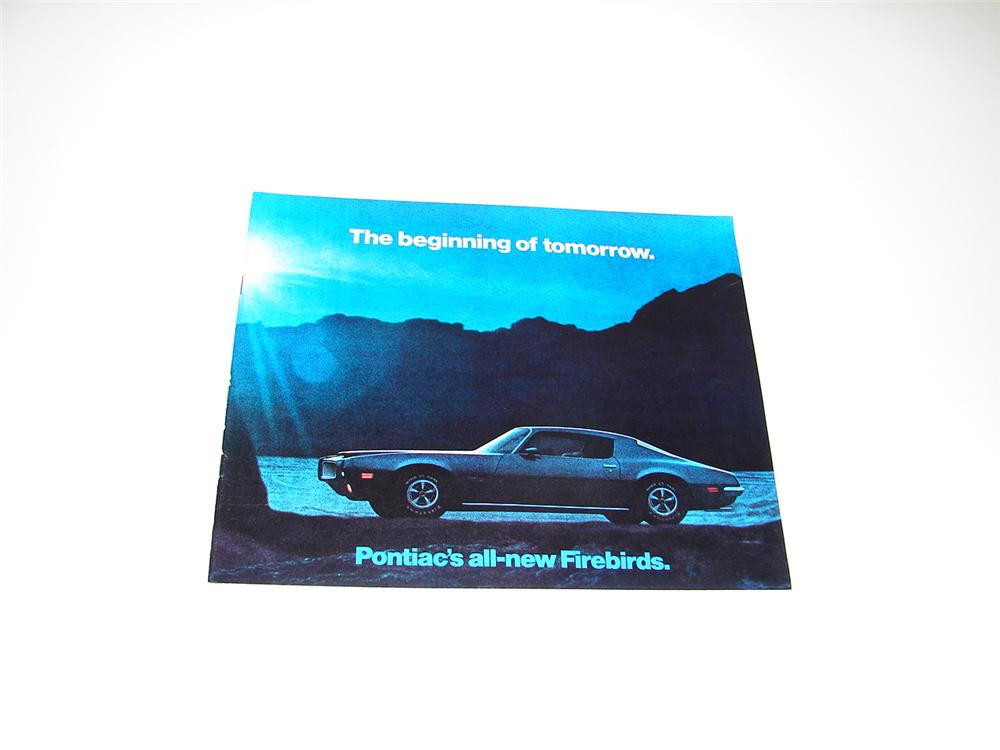 "N.O.S. 1970 All New Pontiac ""Firebirds"" 20 page color sales brochure. - Front 3/4 - 89402"