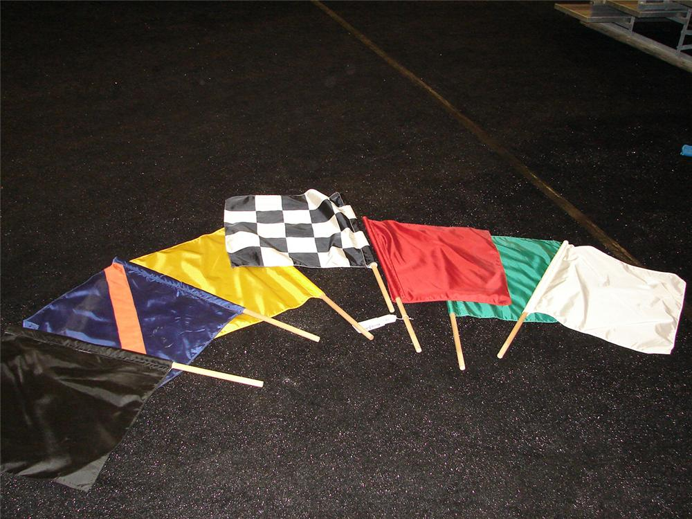 NASCAR race flags from Daytona International Speedway. . - Front 3/4 - 90738