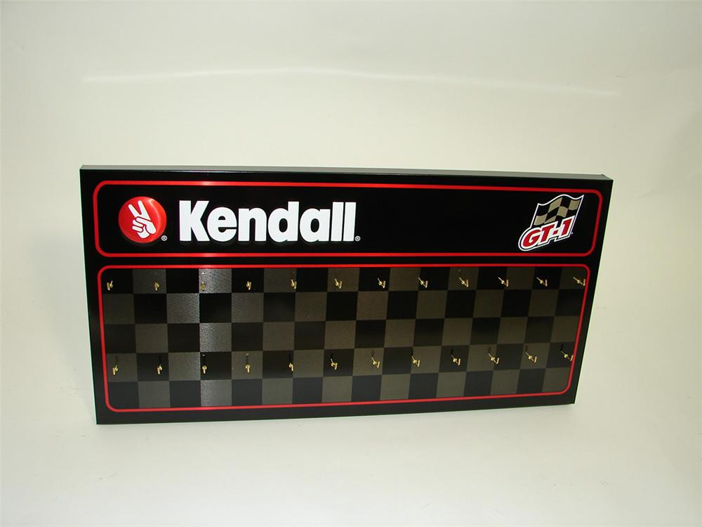 N o s kendall motor oil service garage key control tin for Kendall motor oil distributors