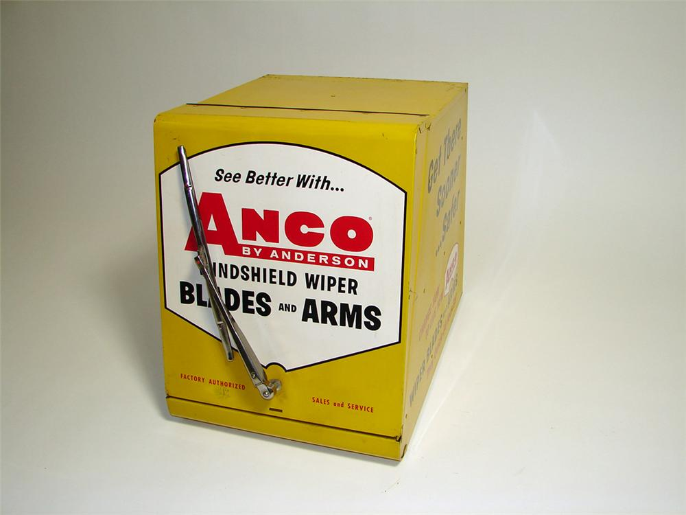 1950s Anco Wiper Blades and Arm service garage counter-top display cabinet. - Front 3/4 - 93890