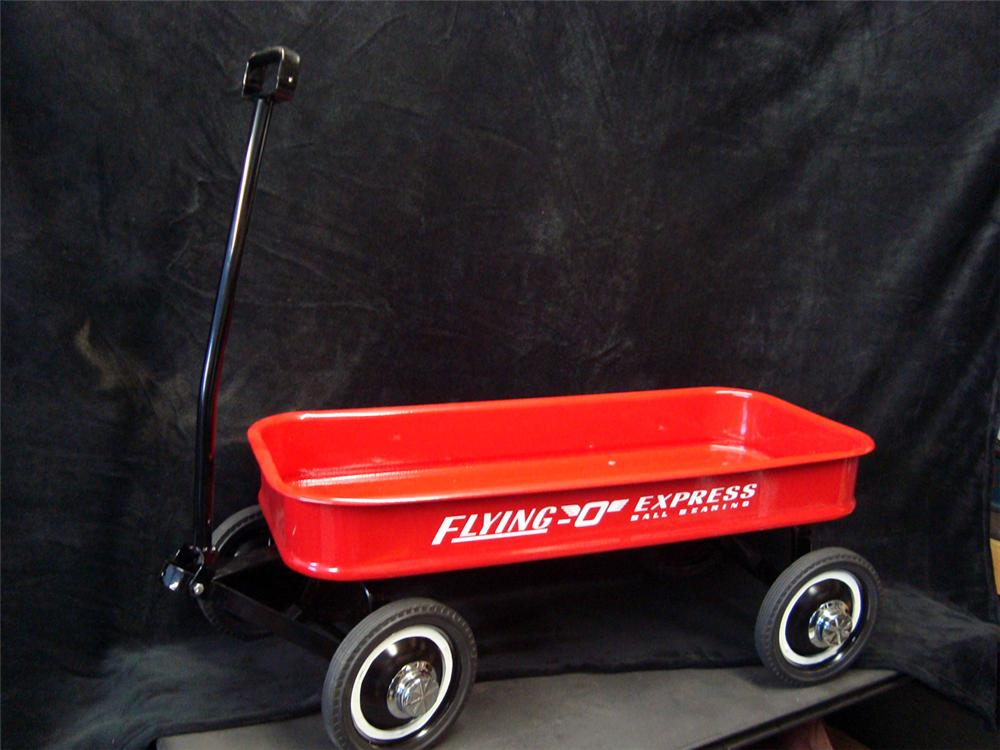 Wonderful 1950s restored Flying O Express kids wagon. - Front 3/4 - 93952
