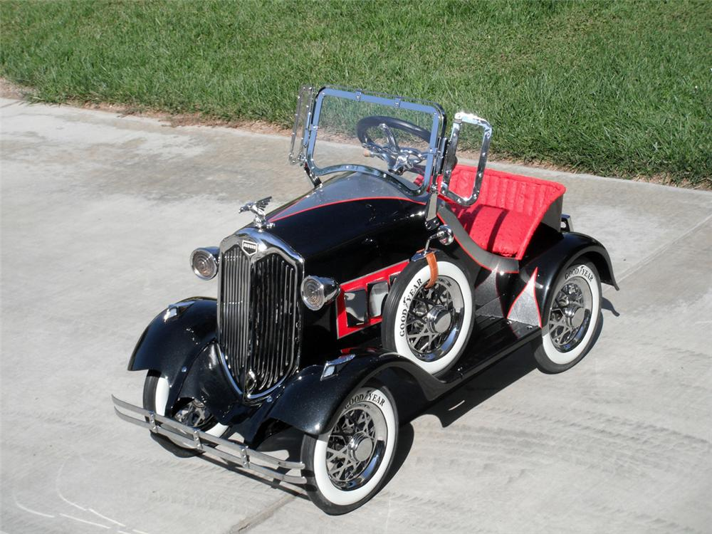 Stunning 1930s Auburn Pedal Car by American National. - Misc 2 - 93991