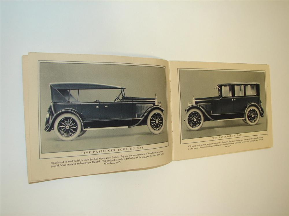 Phenomenal 1924 Packard Single-Six 20 page showroom sales brochure. - Front 3/4 - 97351