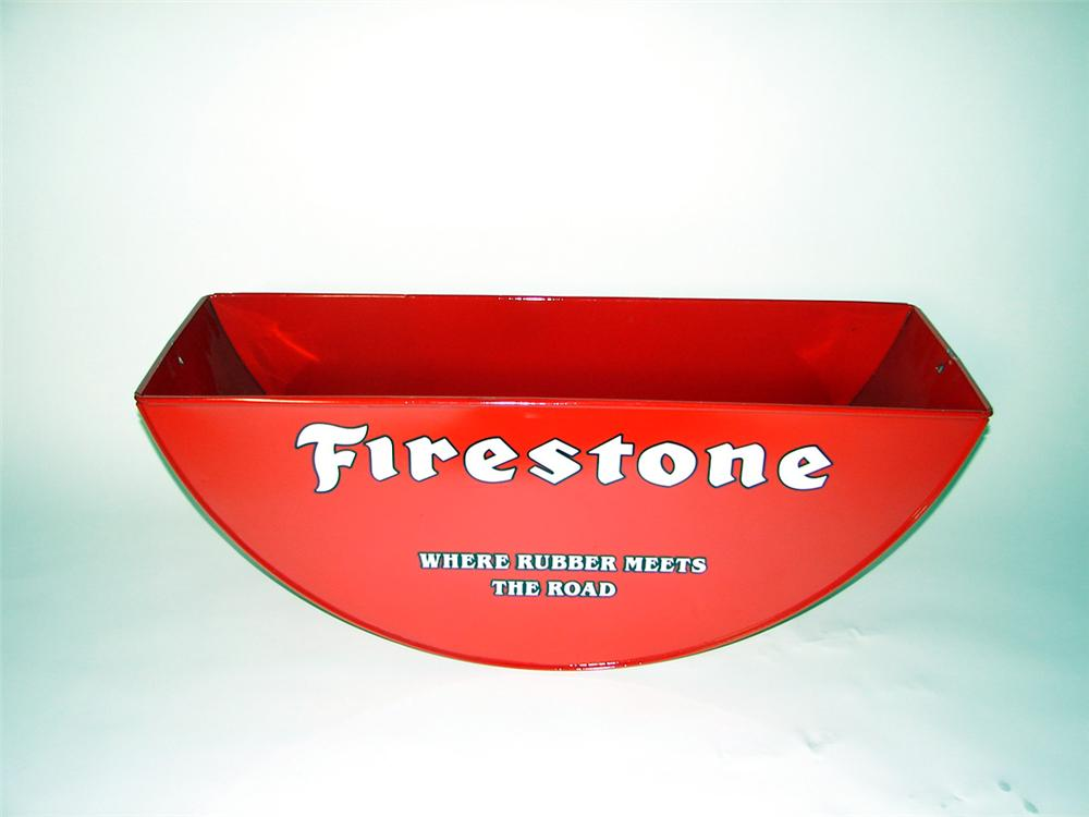 1940s restored Firestone Tires Service Department tire repair bed. - Front 3/4 - 97682