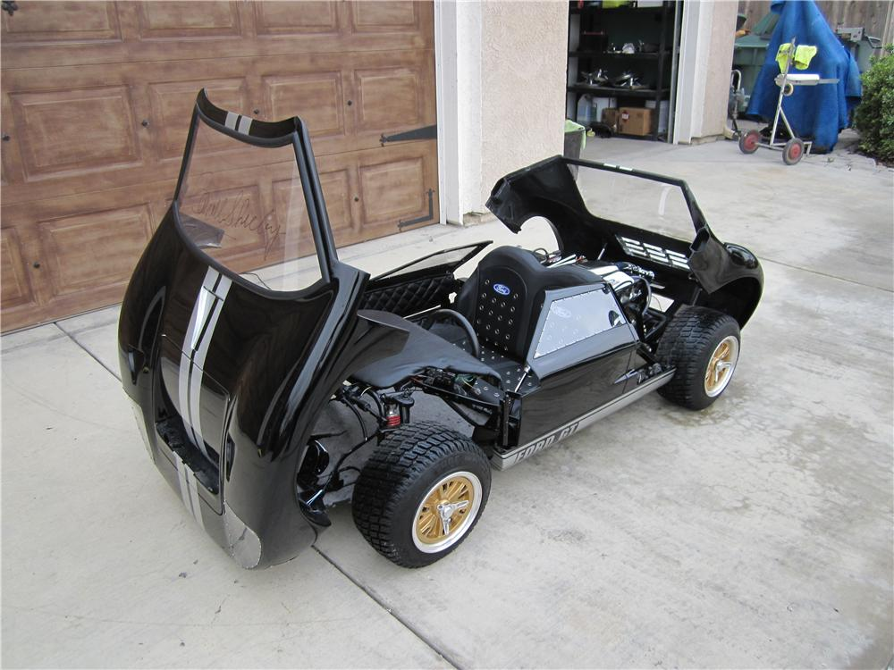 Super sleek, super custom 1/2 scale Ford GT 40 Go-Kart, expertly hand crafted by McLaren Classic Restorations - Misc 2 - 97944