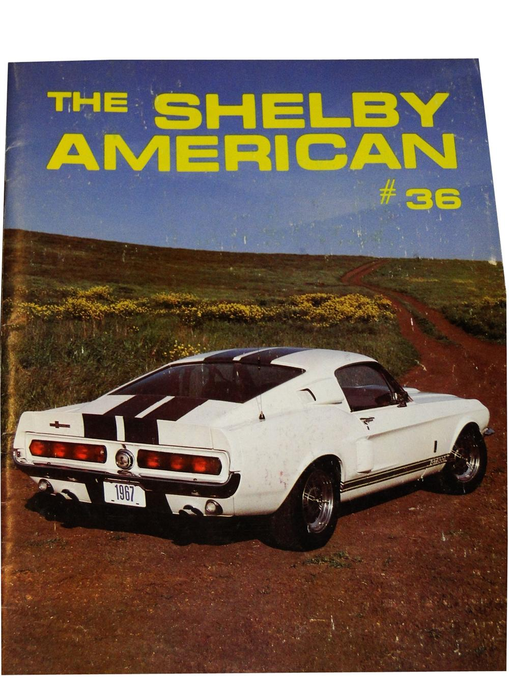 Neat 1982 Shelby American Magazine #36 for Shelby Owners. - Front 3/4 - 97946