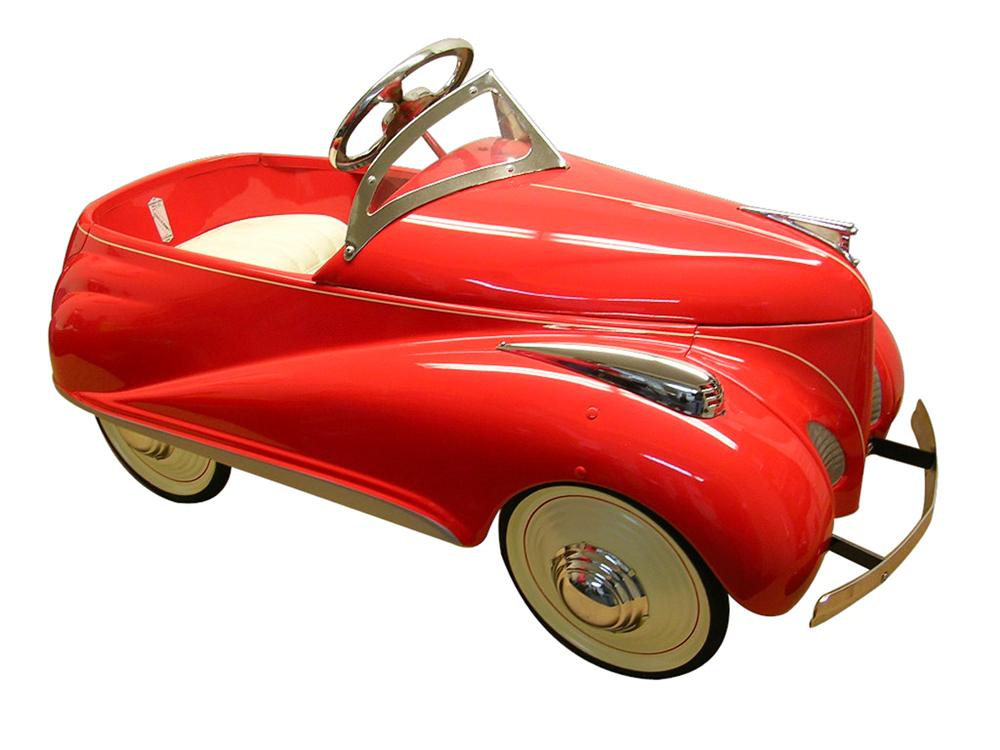 Good Looking 1939 Lincoln Zephyr Pedal Car By Steelcraft