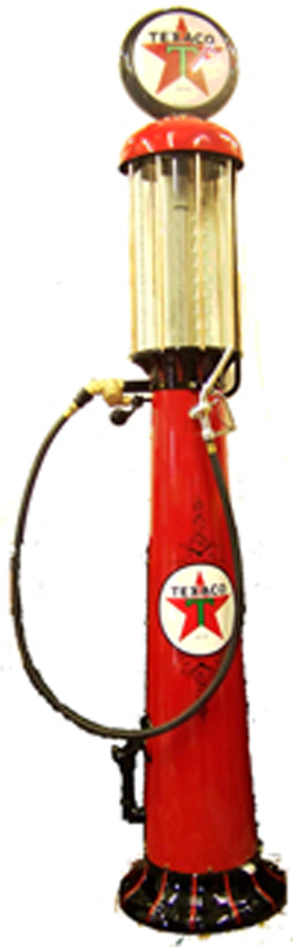 Unparalleled Texaco Filling Station Wayne model #519 gas pump. - Front 3/4 - 97989