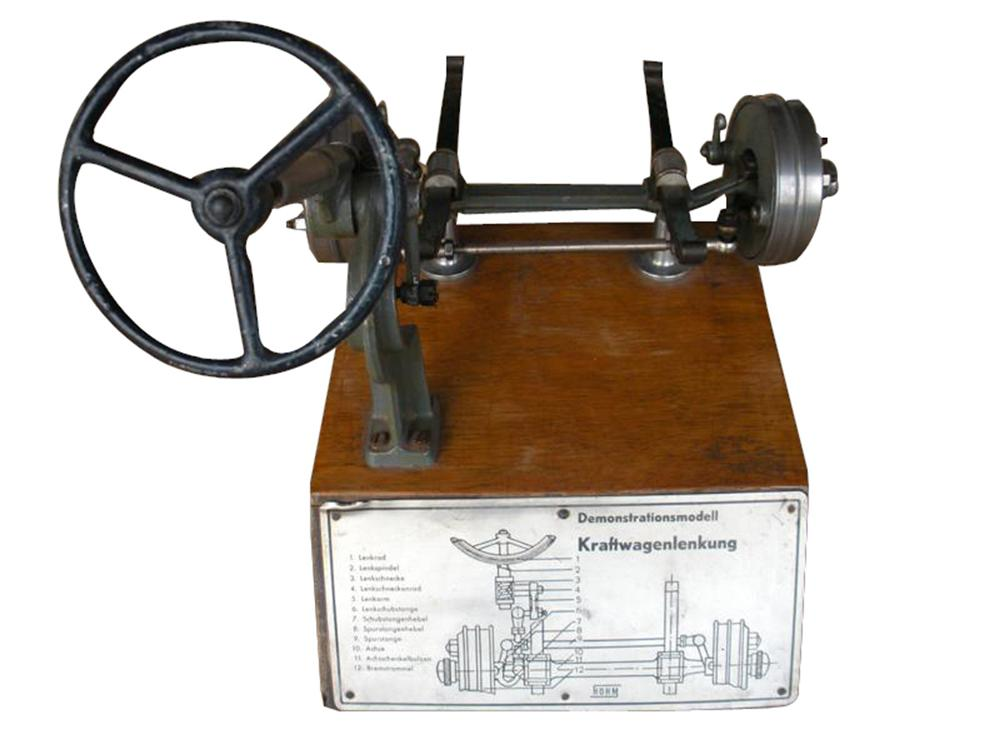 Interesting and uncommon 1940s German Driving School technical working demonstrator. - Front 3/4 - 98043