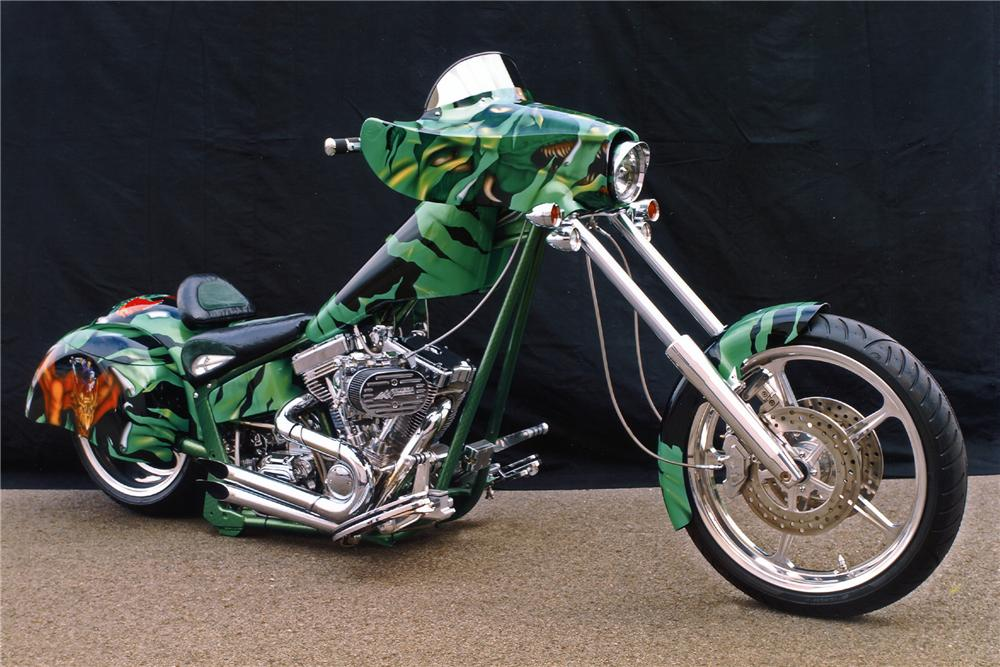 2006 SPECIAL CONSTRUCTION CUSTOM CHOPPER - Front 3/4 - 100394