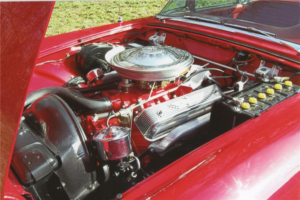 1957 FORD THUNDERBIRD CONVERTIBLE - Engine - 101594