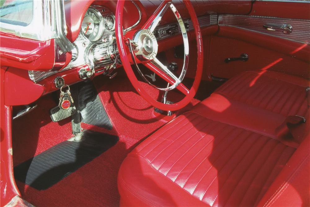 1957 FORD THUNDERBIRD CONVERTIBLE - Interior - 101594