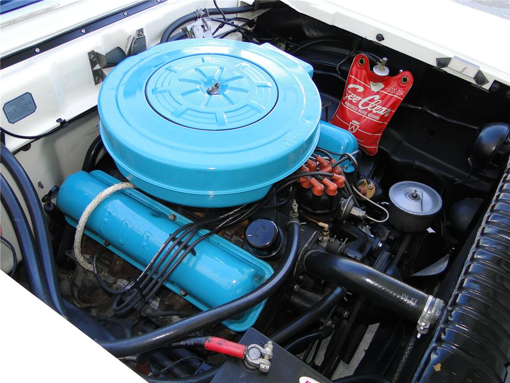 1959 FORD FAIRLANE 500 CONVERTIBLE - Engine - 101597