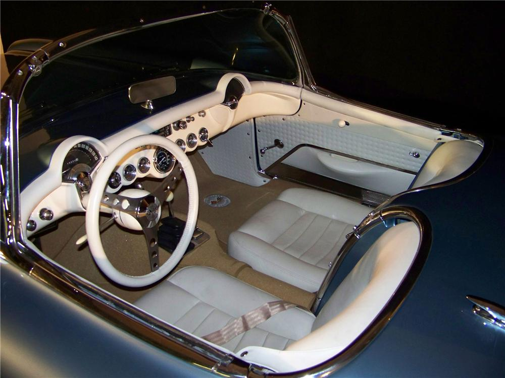 1956 CHEVROLET CORVETTE CUSTOM CONVERTIBLE - Interior - 101598