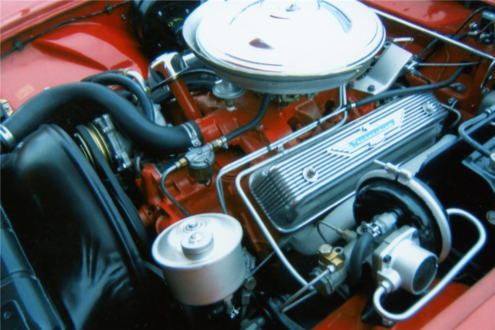 1957 FORD THUNDERBIRD CONVERTIBLE - Engine - 101599