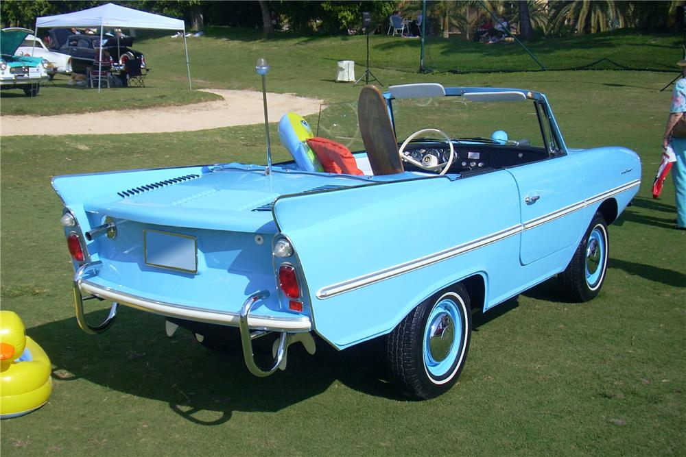 1966 AMPHICAR 770 CONVERTIBLE - Rear 3/4 - 101601