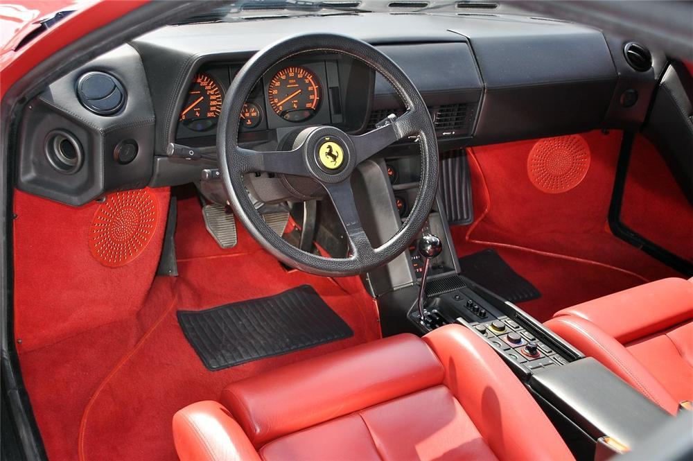 1991 FERRARI TESTAROSSA 2 DOOR COUPE - Interior - 101607