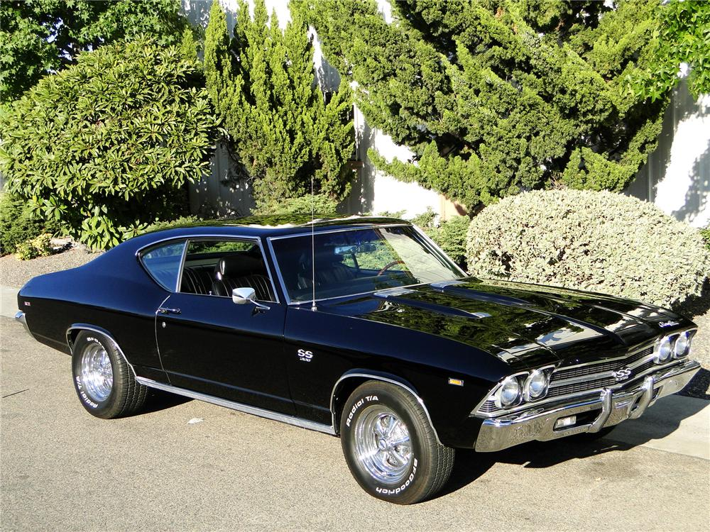 1969 chevrolet chevelle ss 396 2 door custom coupe 101608. Black Bedroom Furniture Sets. Home Design Ideas