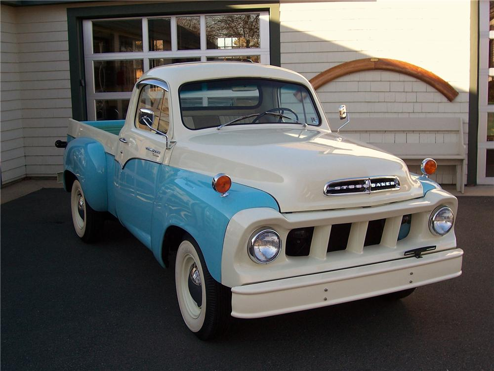 1958 STUDEBAKER TRANSTAR PICKUP - Side Profile - 101617