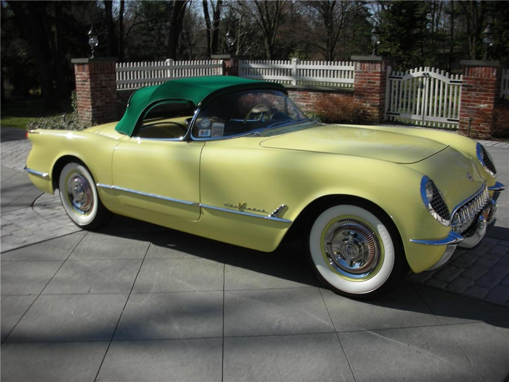 1955 CHEVROLET CORVETTE CONVERTIBLE - Side Profile - 101619