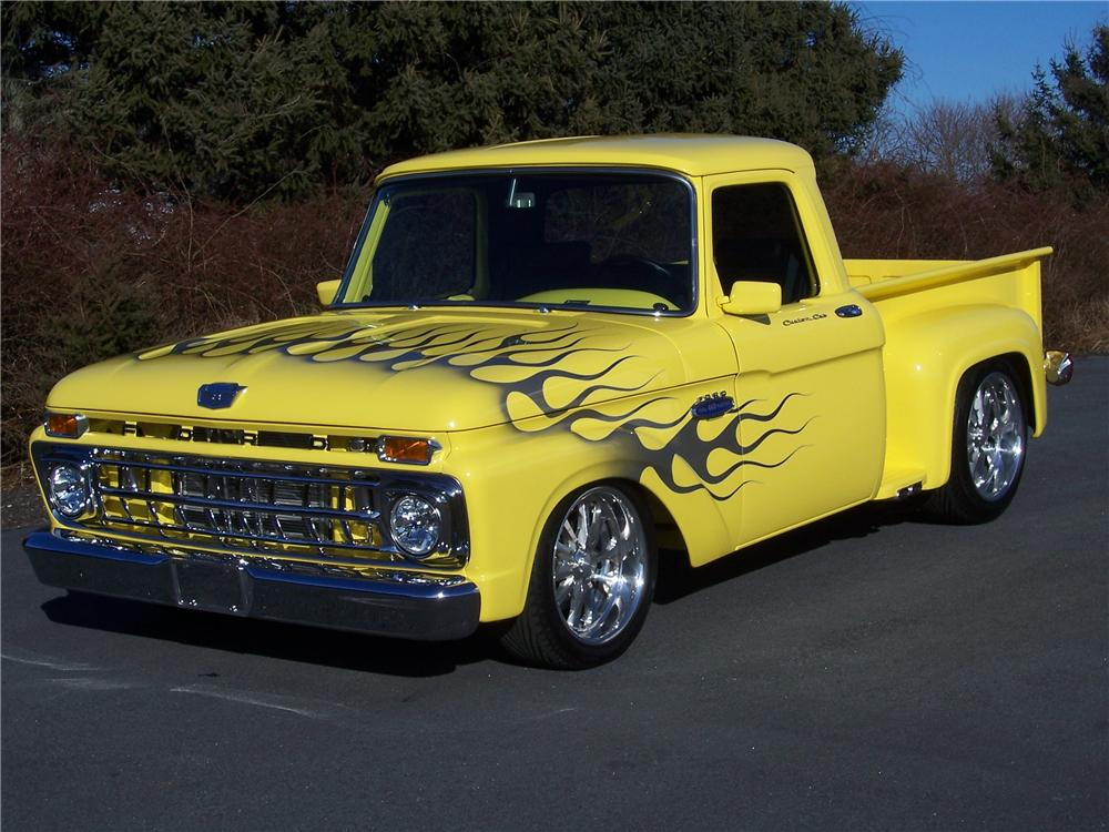 1965 Ford F 100 Stepside Custom Pickup 101622