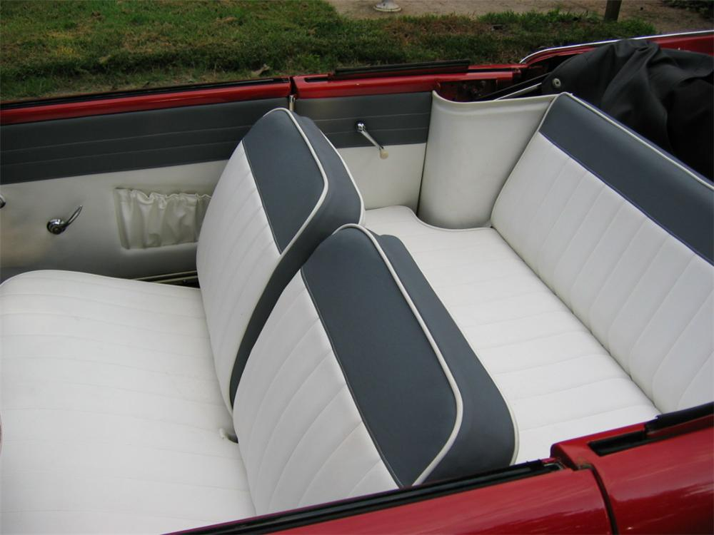 1962 AMPHICAR 770 CONVERTIBLE - Interior - 101635