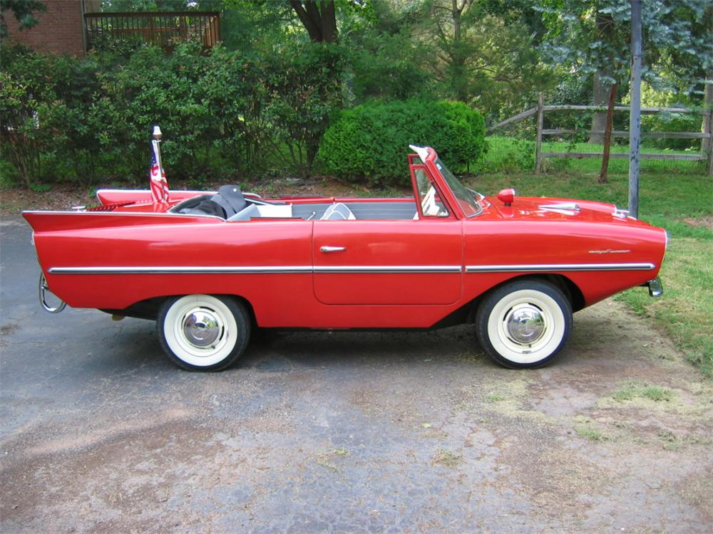1962 AMPHICAR 770 CONVERTIBLE - Side Profile - 101635