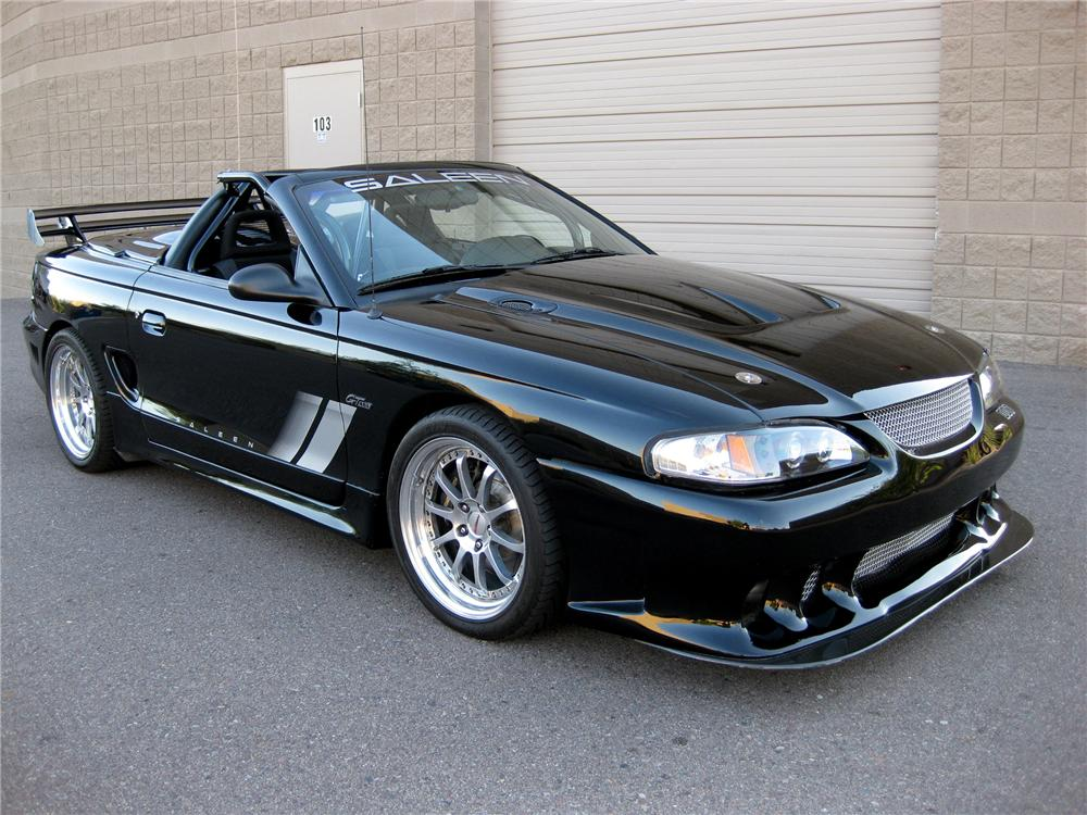 1996 FORD SALEEN MUSTANG CONVERTIBLE - Front 3/4 - 101645