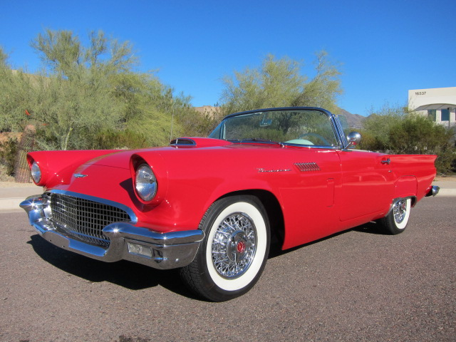 1957 FORD THUNDERBIRD ROADSTER - Front 3/4 - 101647