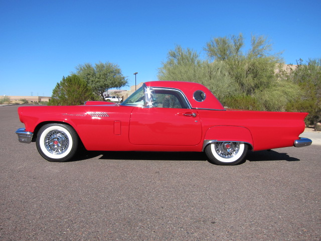 1957 FORD THUNDERBIRD ROADSTER - Side Profile - 101647