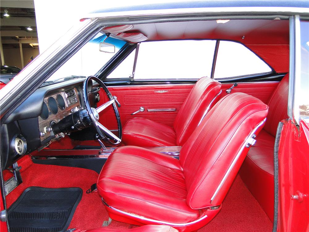 1967 PONTIAC GTO COUPE - Interior - 101648