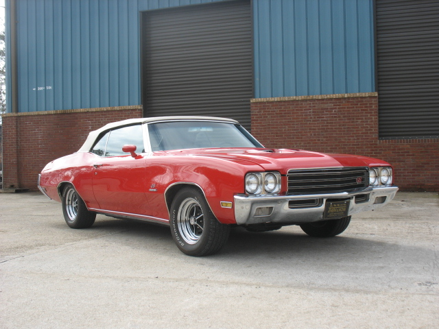 1971 BUICK GS STAGE 1 CONVERTIBLE - Front 3/4 - 101652