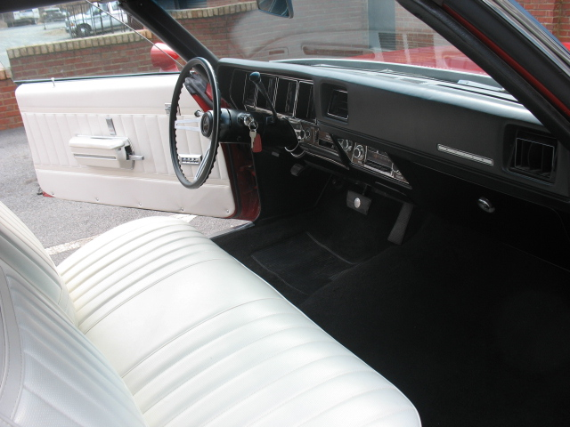 1971 BUICK GS STAGE 1 CONVERTIBLE - Interior - 101652