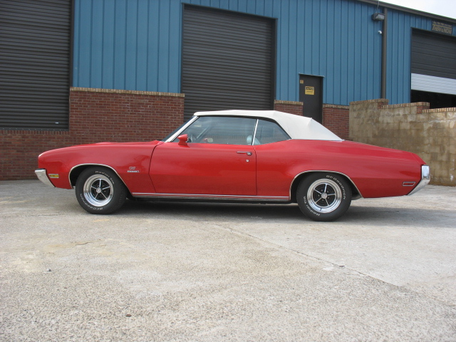 1971 BUICK GS STAGE 1 CONVERTIBLE - Side Profile - 101652