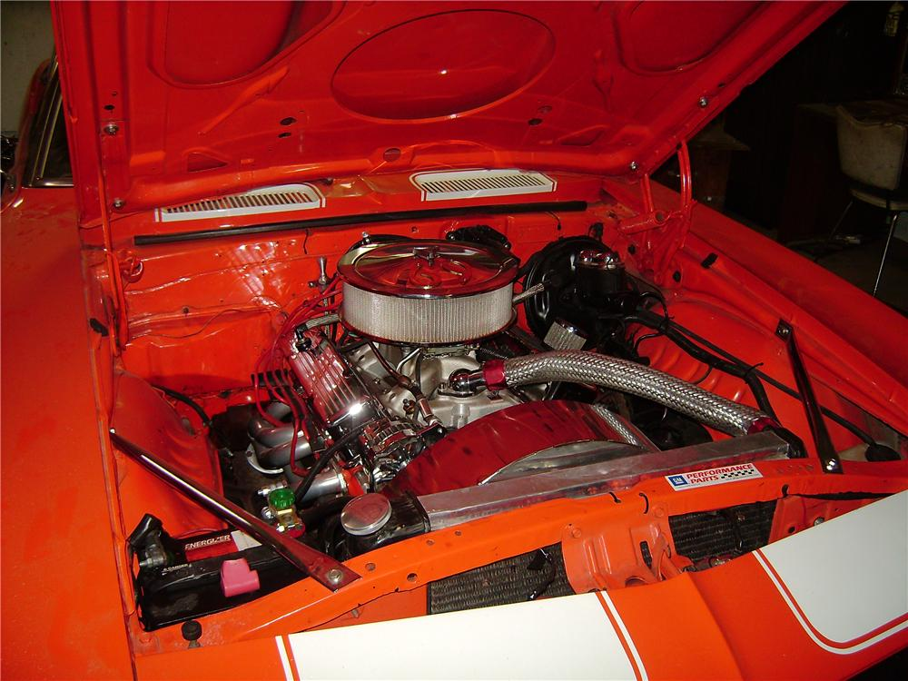 1969 CHEVROLET CAMARO RS/SS CUSTOM CONVERTIBLE - Engine - 101653